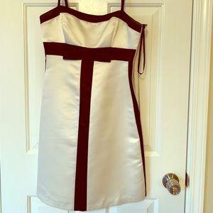BCBG BEAUTIFUL BOW DRESS